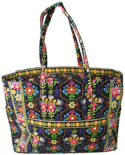 Stephanie Dawn X-Large Tote - Bloom Dance - New Quilted Handbag ... : quilted handbags made in usa - Adamdwight.com