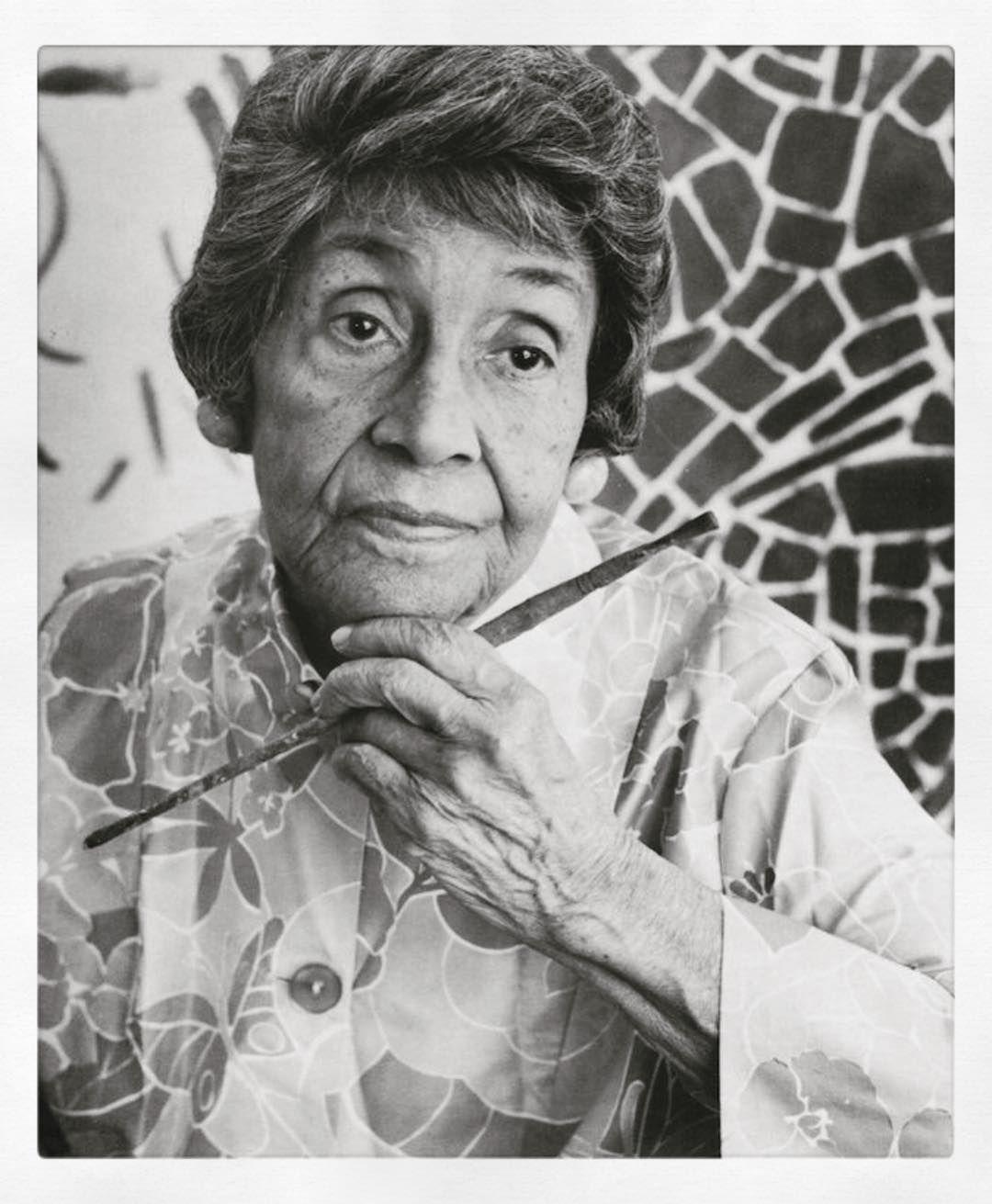 "Support Blackstraction on Instagram: ""Artist: Alma Thomas Bio: Alma Woodsey Thomas (September 22, 1891 – February 24, 1978) w… | Alma thomas, Female artists, Artist"