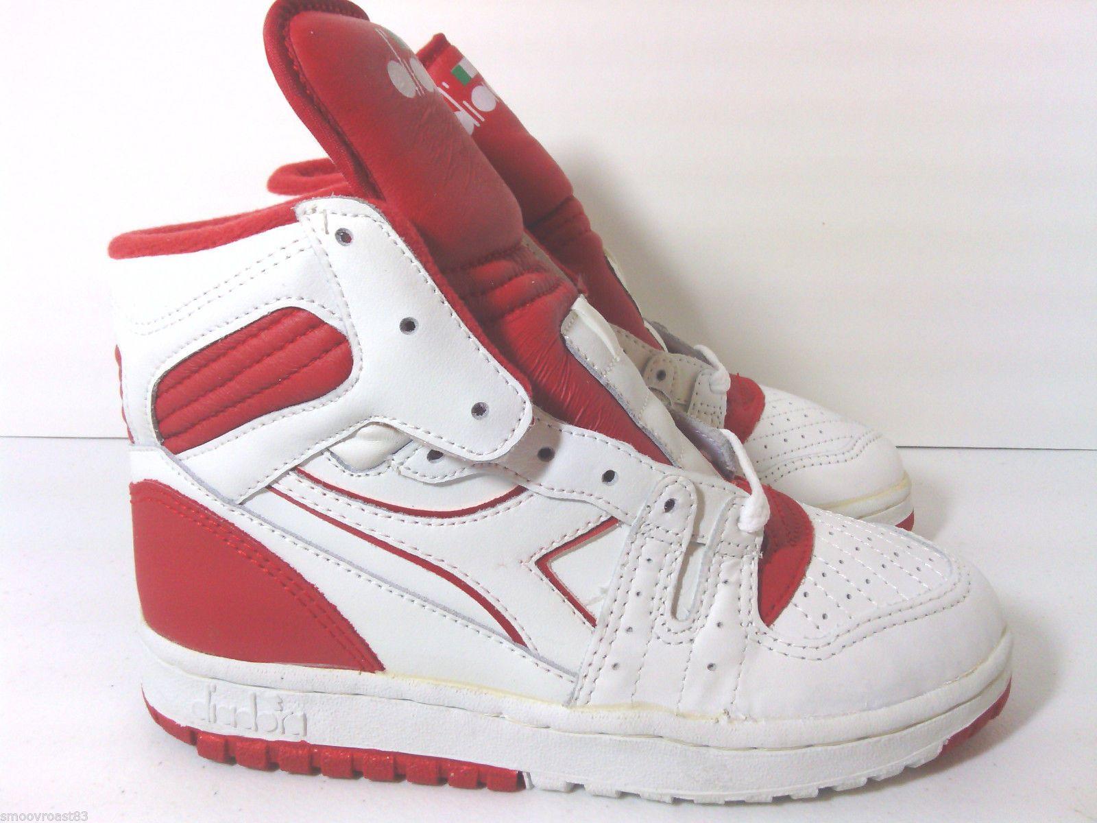 Adidas · Vtg 80s Diadora Slam Jr OG Deadstock Hi Tops ...