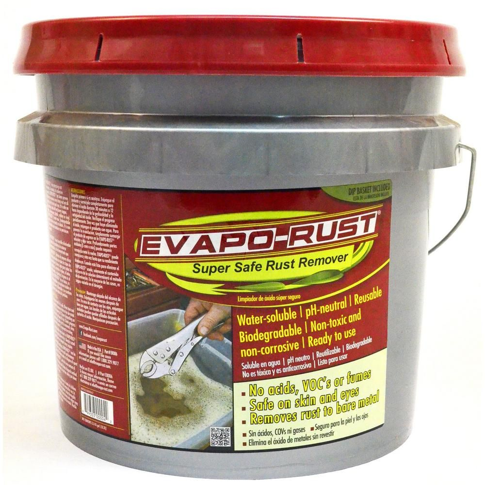 Evapo Rust 3 5 Gal Safe Rust Remover Biodegradable Products