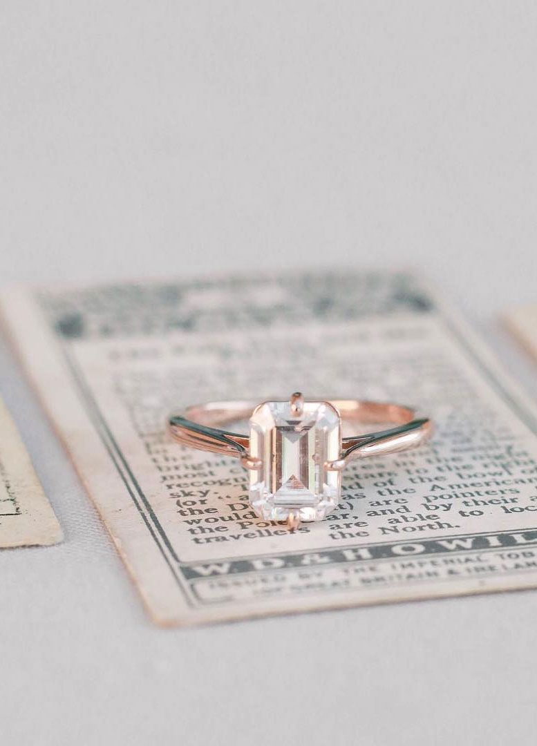 100 The most beautiful engagement rings you'll want to own - unique engagement ring #engagementring #engaged #diamondring #diamondengagementring #wedding #engagementrings #engagementringselfie #uniqueengagementring