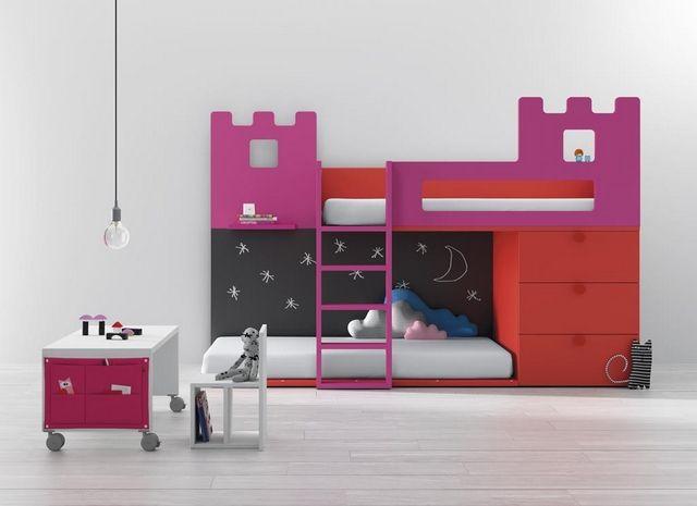 Dormitorios infantiles compartidos modernos 4 decoracion - Dormitorios infantiles modernos ...