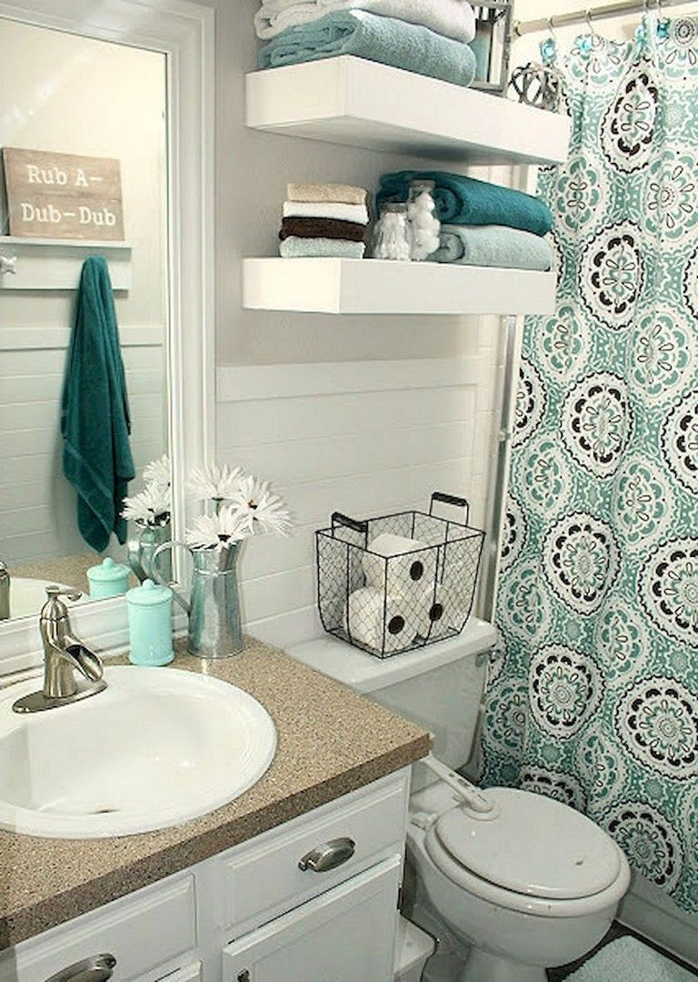 53 Creative Diy College Apartment Decor Ideas On A Budget Page 50 Of 54 Diy Small Apartment College Apartment Decor Bathroom Decor Apartment