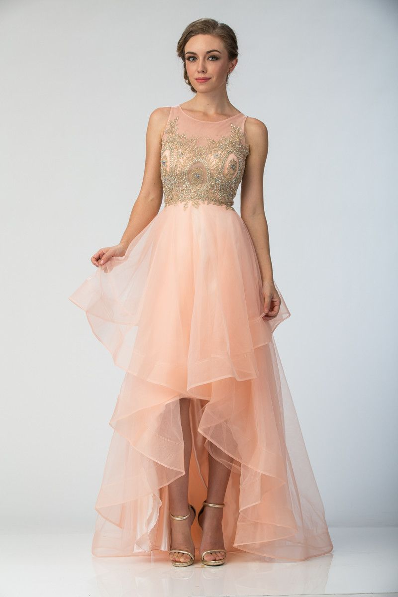 Hilo prom dress w jeweled neckline products pinterest products