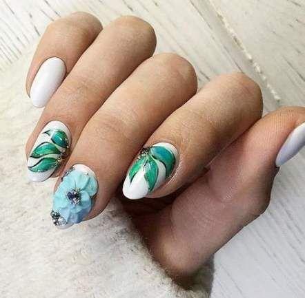 trendy fails design spring acrylic oval ideas  oval nails