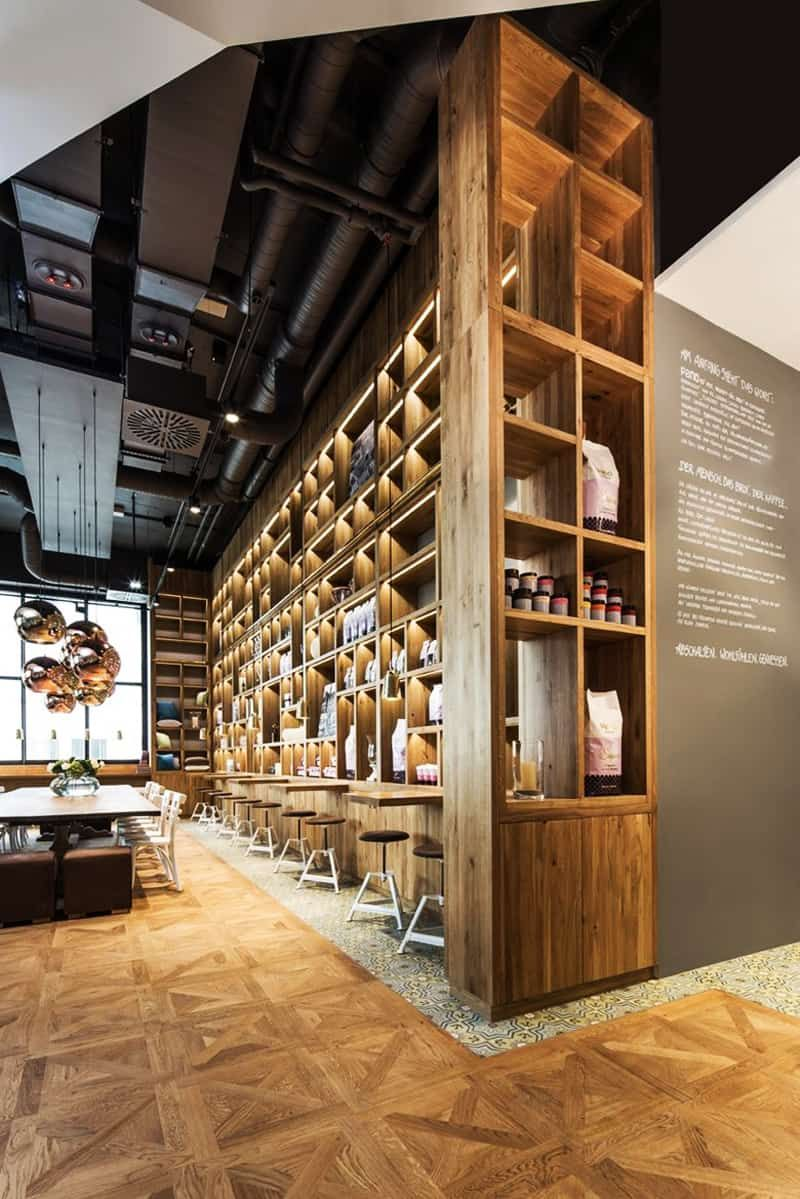 Have A Snack In The Heart Of Stuttgart Pano Brot And Kaffee Coffee Shop Design Bar Design Restaurant Cafe Design