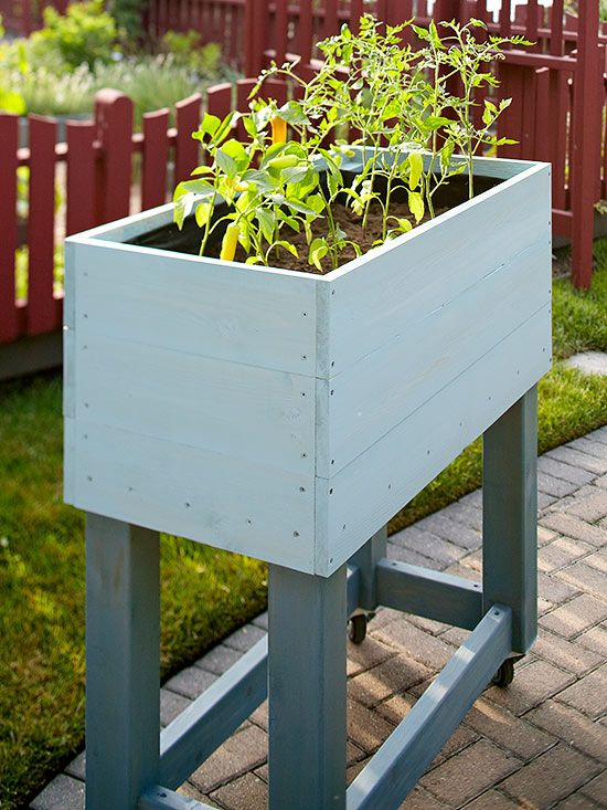 7 Steps To Building A Garden On Wheels Building A Raised Garden