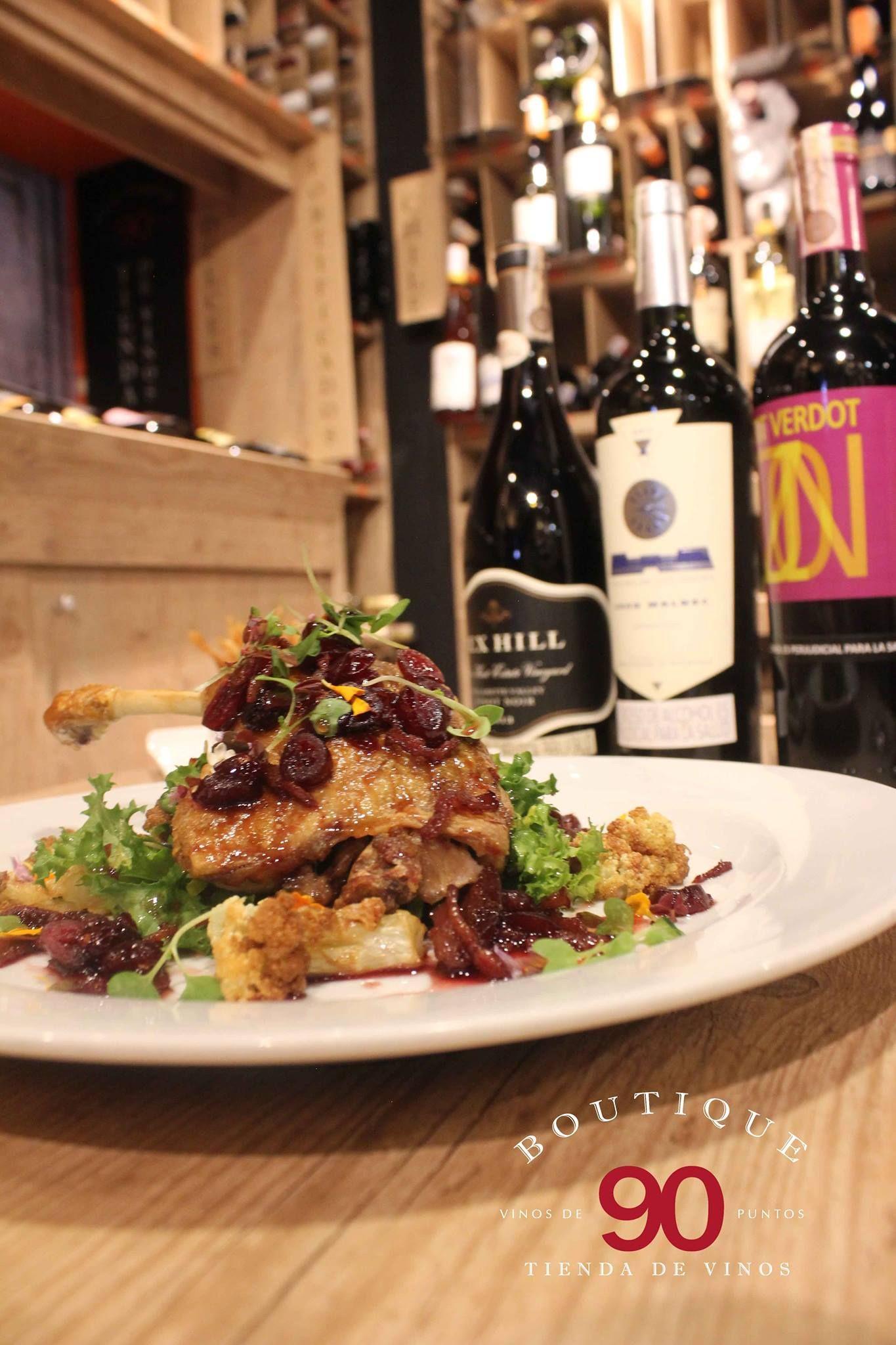 Descubra nuestra propuesta de MARIDAJE PERFECTO Somos dos destinos en uno: Restaurante y Tienda de Vinos http://daniel.com.co/boutique90/