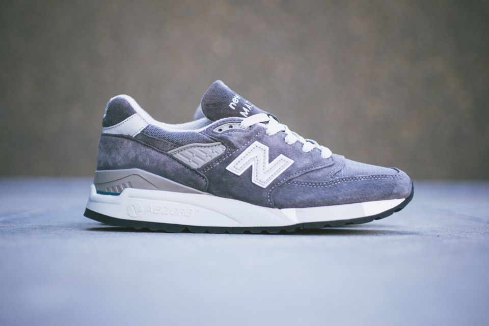 New Balance – Made in USA 998 Medium Grey | Shoes | Pinterest