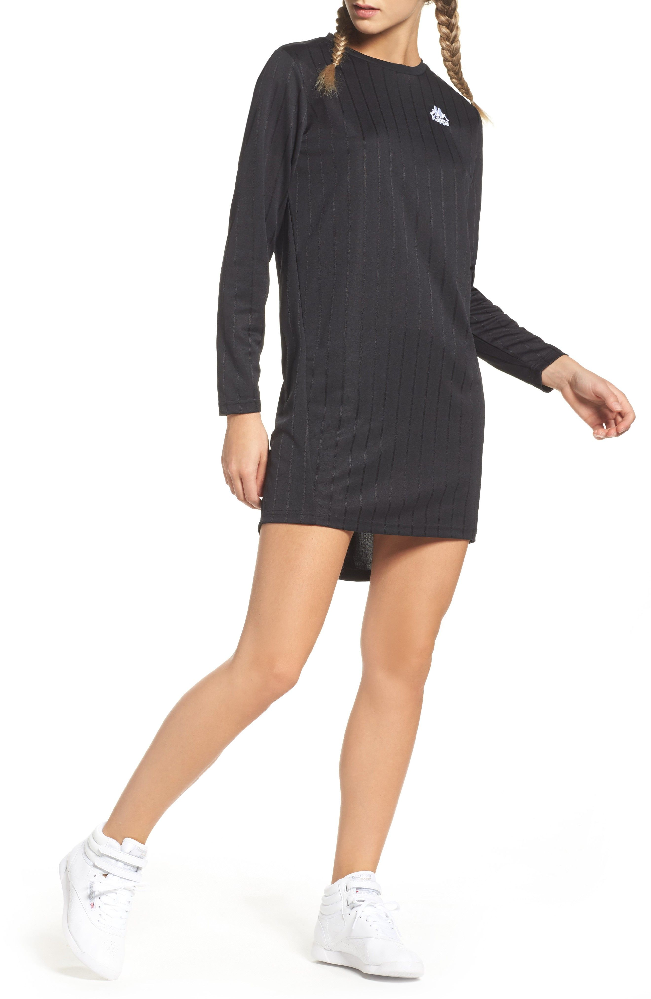 Buy KAPPA Authentic Rippon T-Shirt Dress online. New offer for KAPPA  Authentic Rippon T-Shirt Dress from best store online