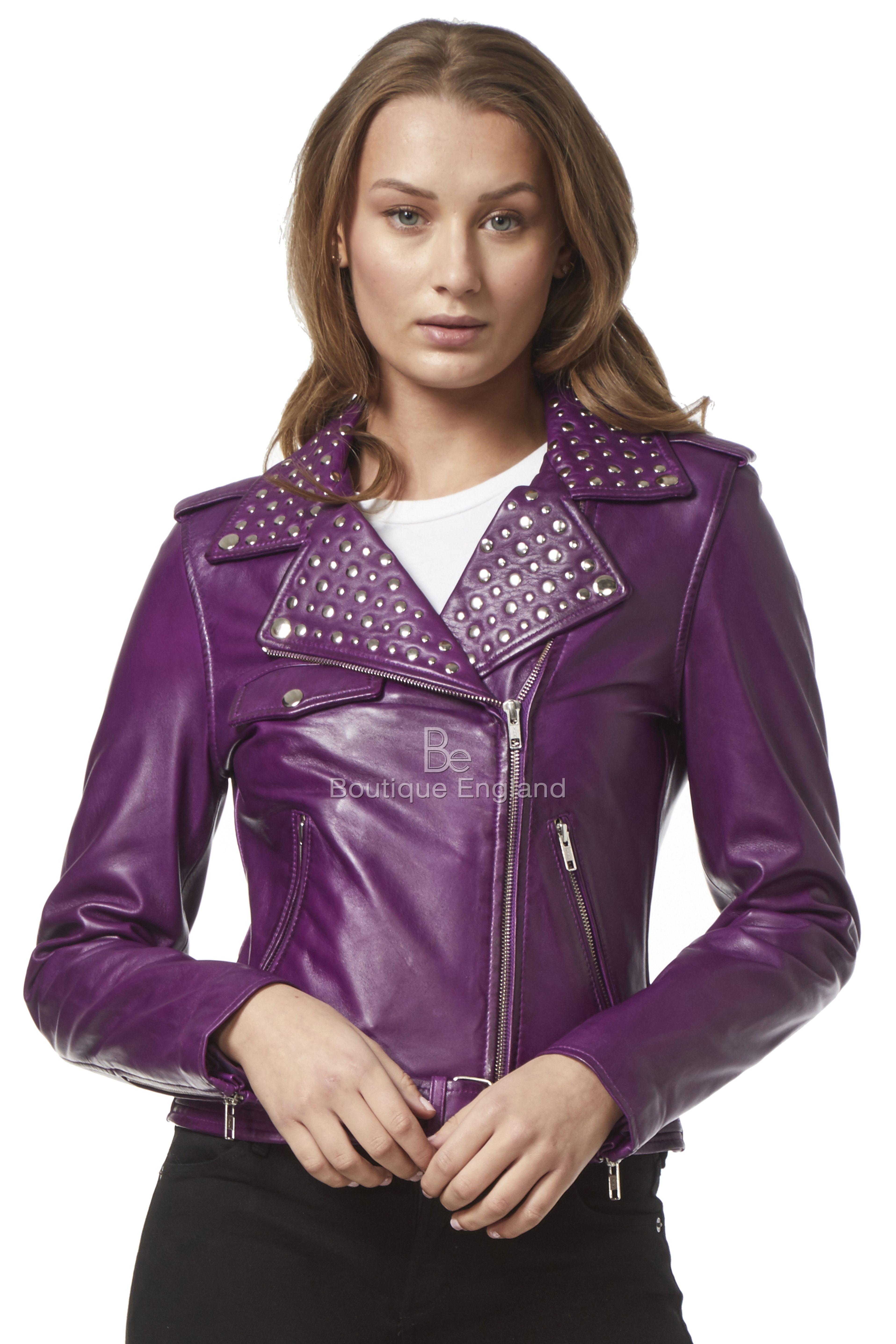 Enjoy Flat 10 Sale On Ladies Real Leather Jackets