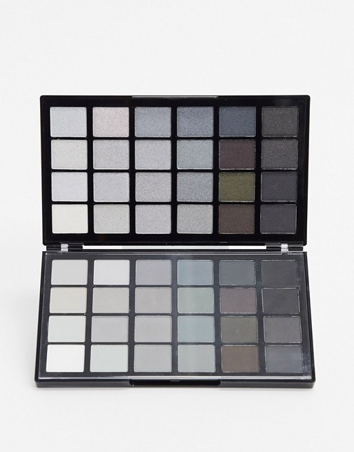 Revolution Colour Book Eyeshadow Palette Blacks Cb01 Asos Eyeshadow Eyeshadow Palette Coloring Books