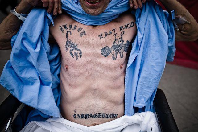 Las devastadoras, pero fascinantes fotos que Jeff Bierk ha tomado a yonquis | VICE México