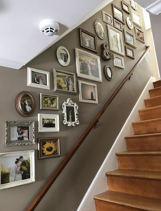 45 Stairway Gallery Walls That Excite And Inspire