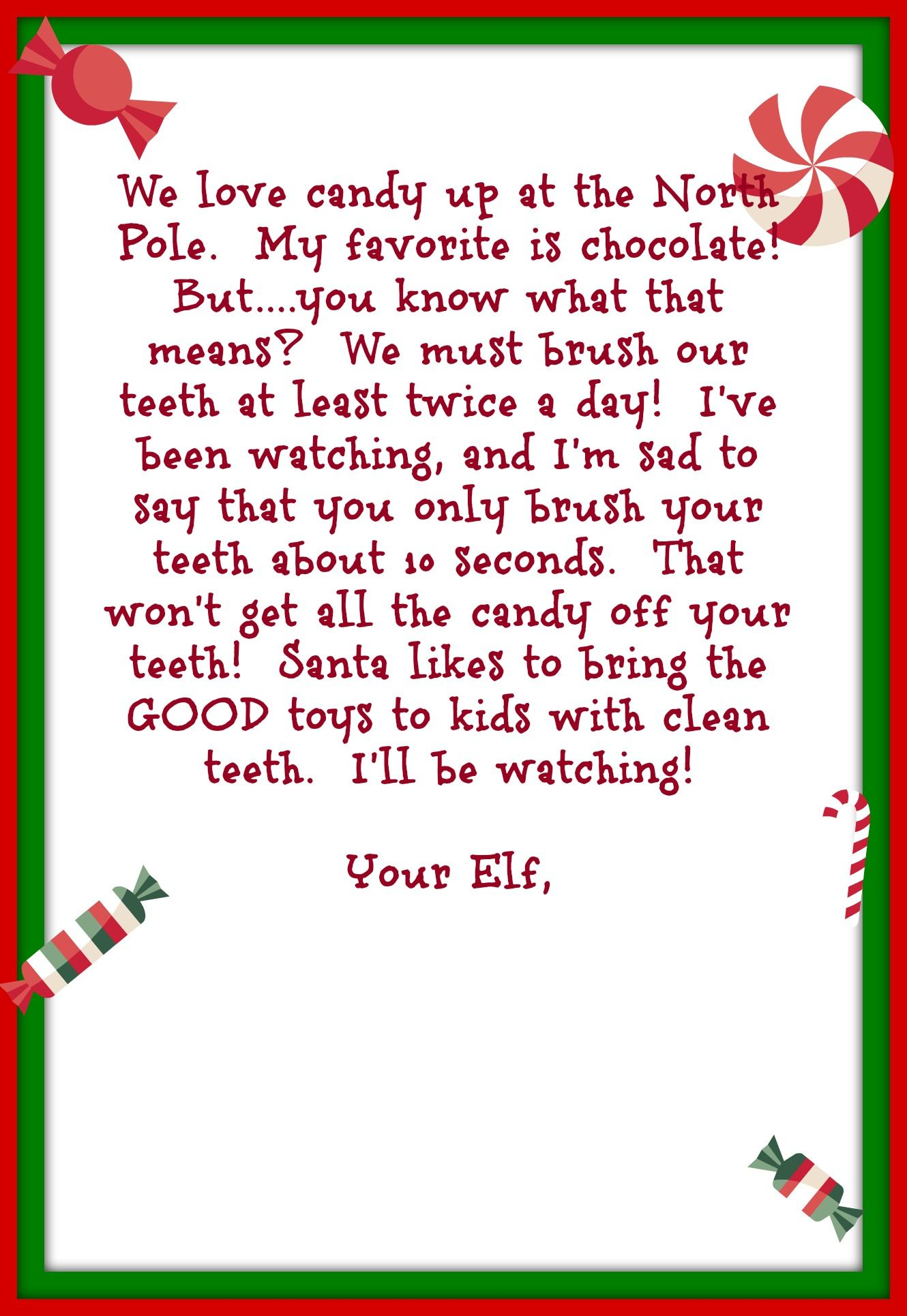 goodbye letter from elf on the shelf free printable Parlo