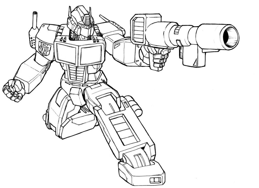 transformers coloring pages optimus prime | Digital stamps | Pinterest