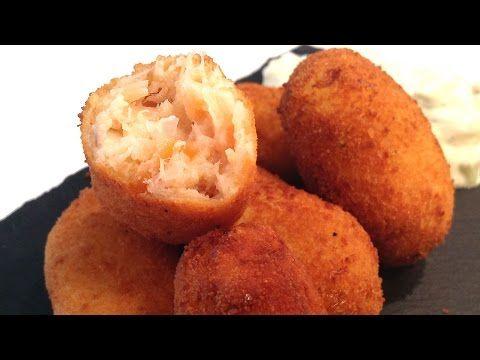 Cocina Muy Sencilla Croquetas De Salmón Ahumado Croquetas De Salmón Recetas De Comida Fáciles Recetas De Pastas Faciles
