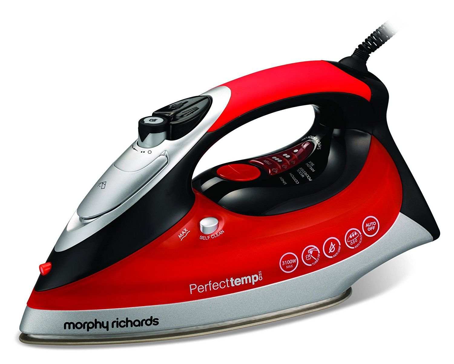 Cleaning rowenta pressure iron and steamer - Morphy Richards 300002 Perfect Temp Steam Iron Review Https Royalirons Co