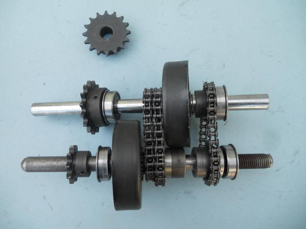 Two Speed Automatic Transmission Motorized Bicycle