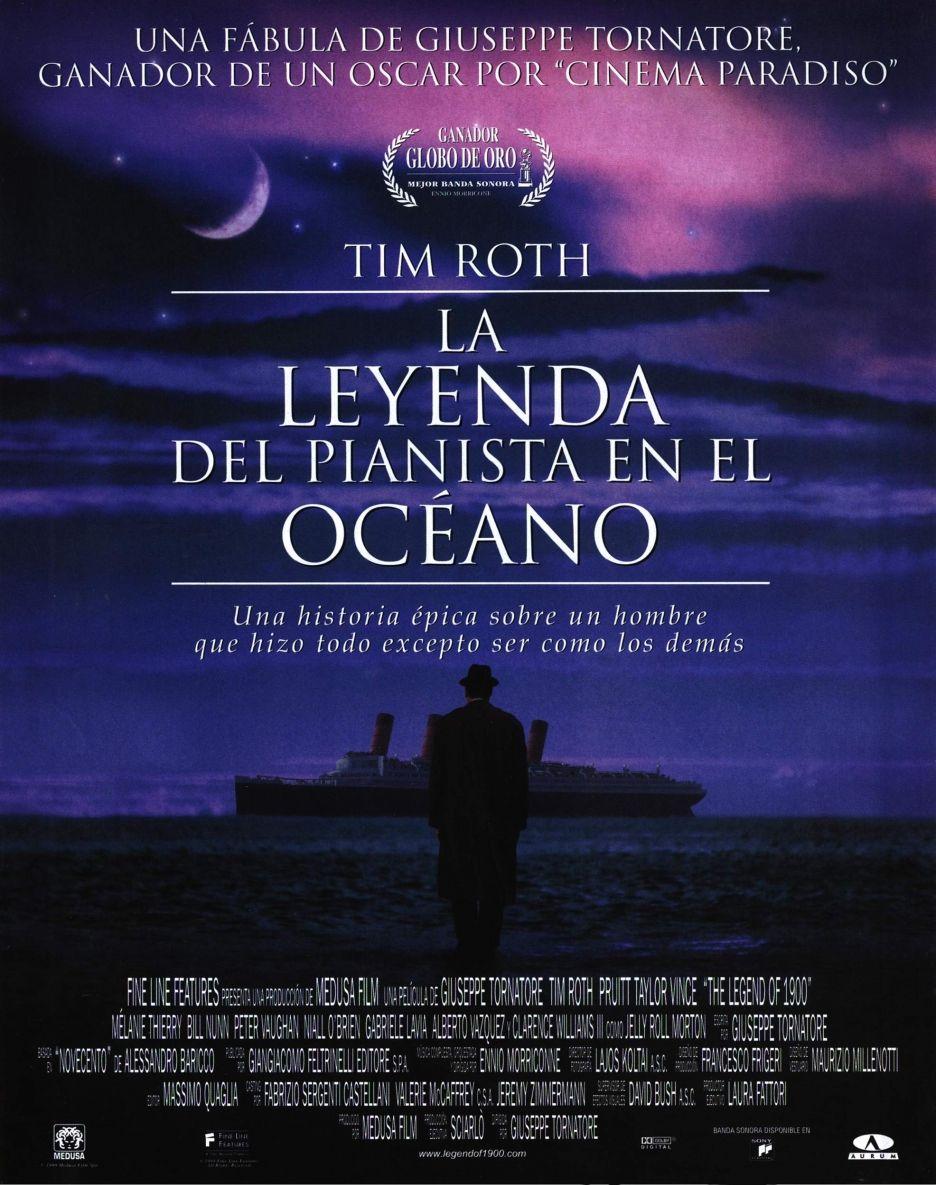 La Leggenda Del Pianista Sull'oceano : leggenda, pianista, sull'oceano, Leggenda, Pianista, Sull'oceano, Legend, 1900), Legend,, Movie, Posters,, Favorite, Movies