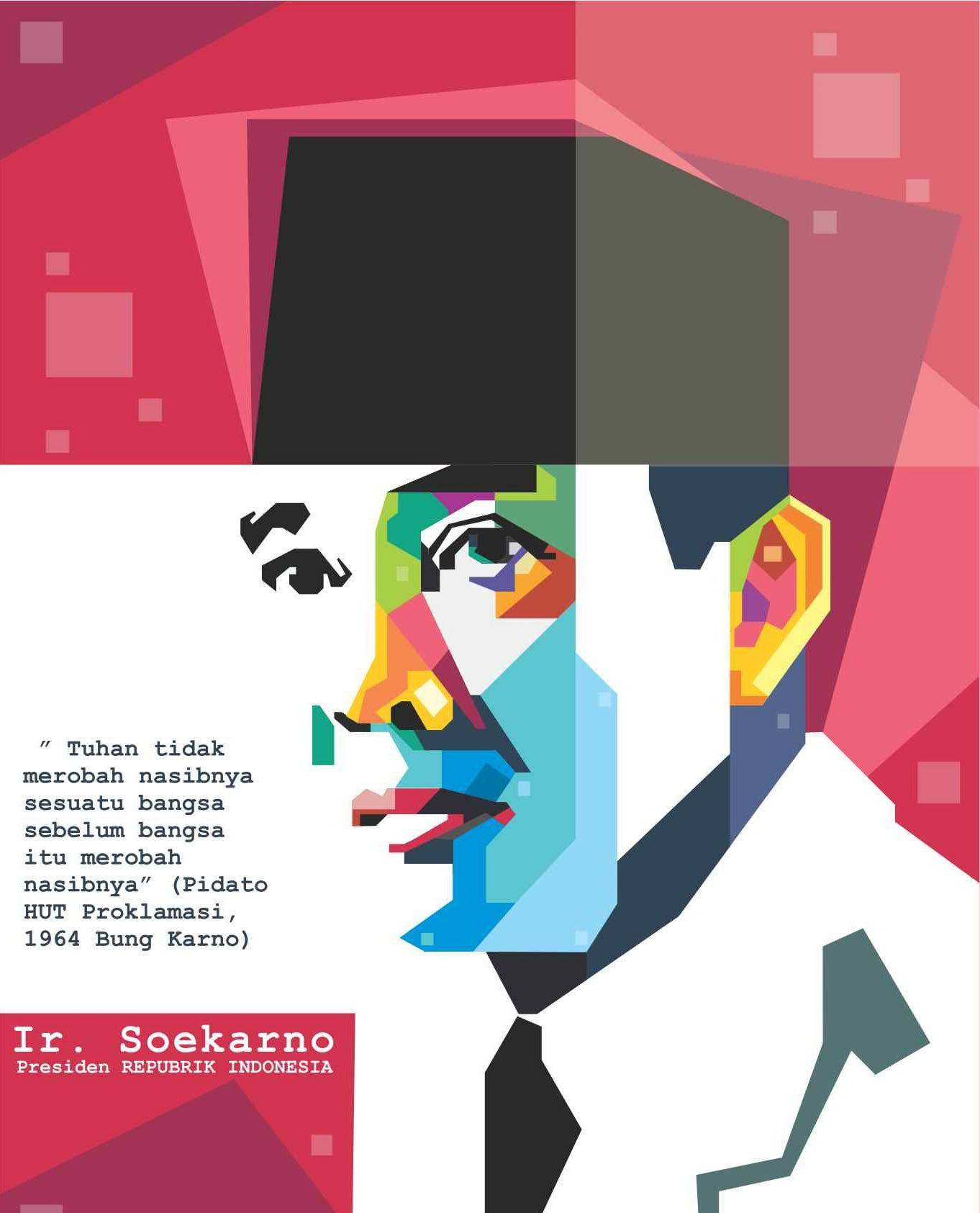 When small Soekarno lived with his grandfather in