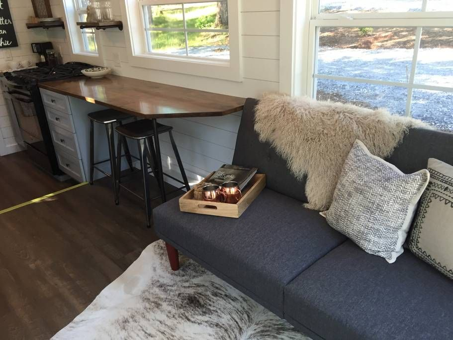 Eating And Work Space Tiny House Interior Design Tiny