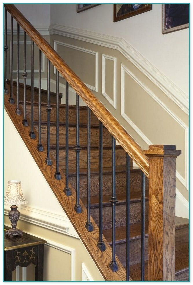 Best Cool Stair Rails By Allison Hall Iron Stair Railing 400 x 300