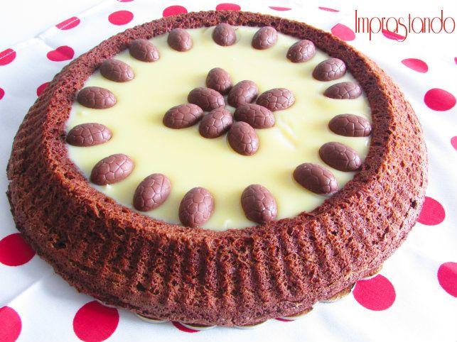 Crostata morbida al cioccolato bianco