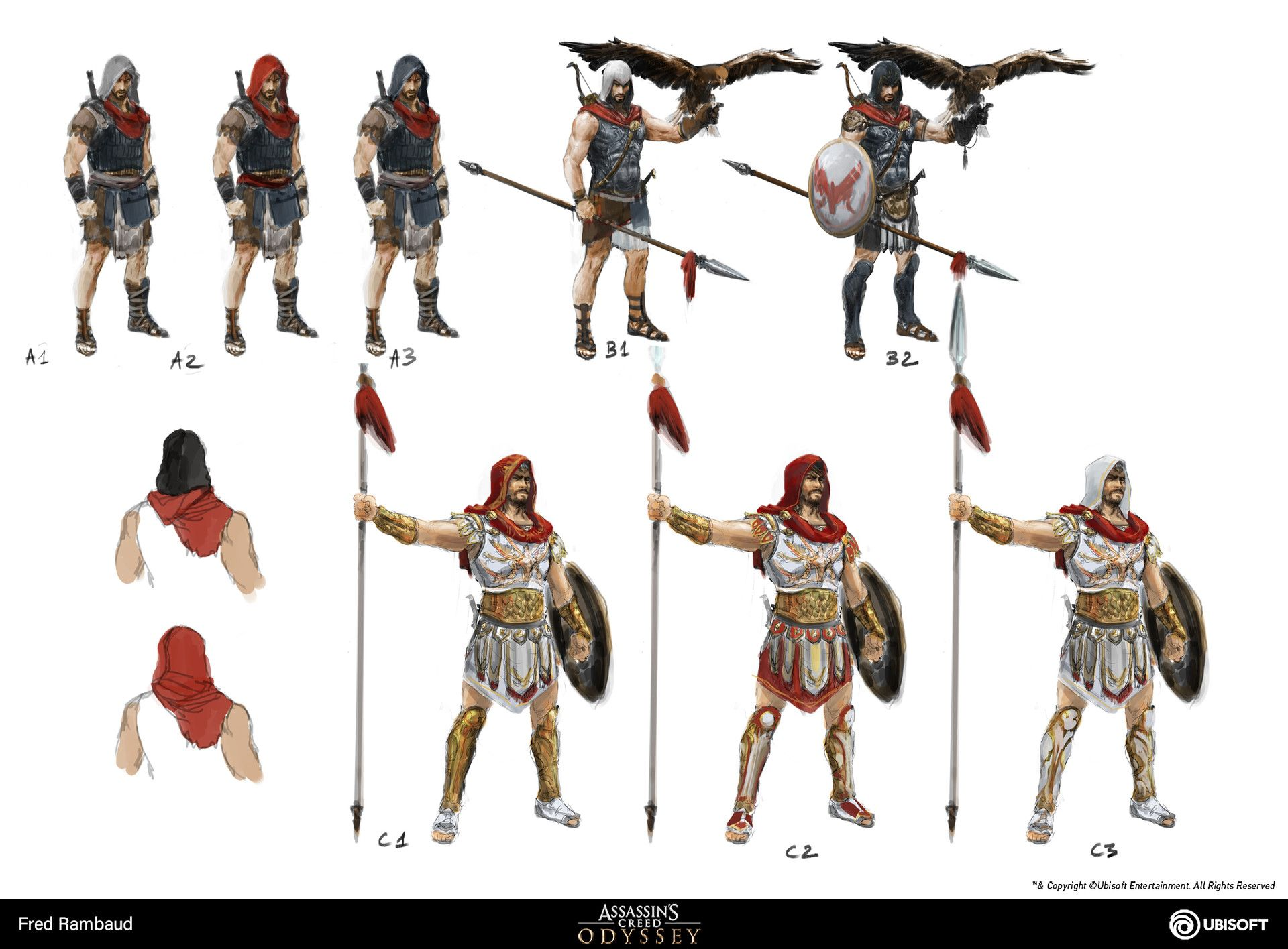 Artstation Alexios Assassin S Creed Odyssey Concept Art Fred