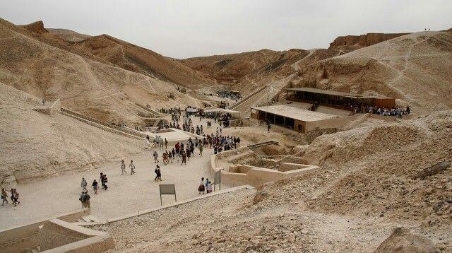 El Valle de los Reyes (Egipto).
