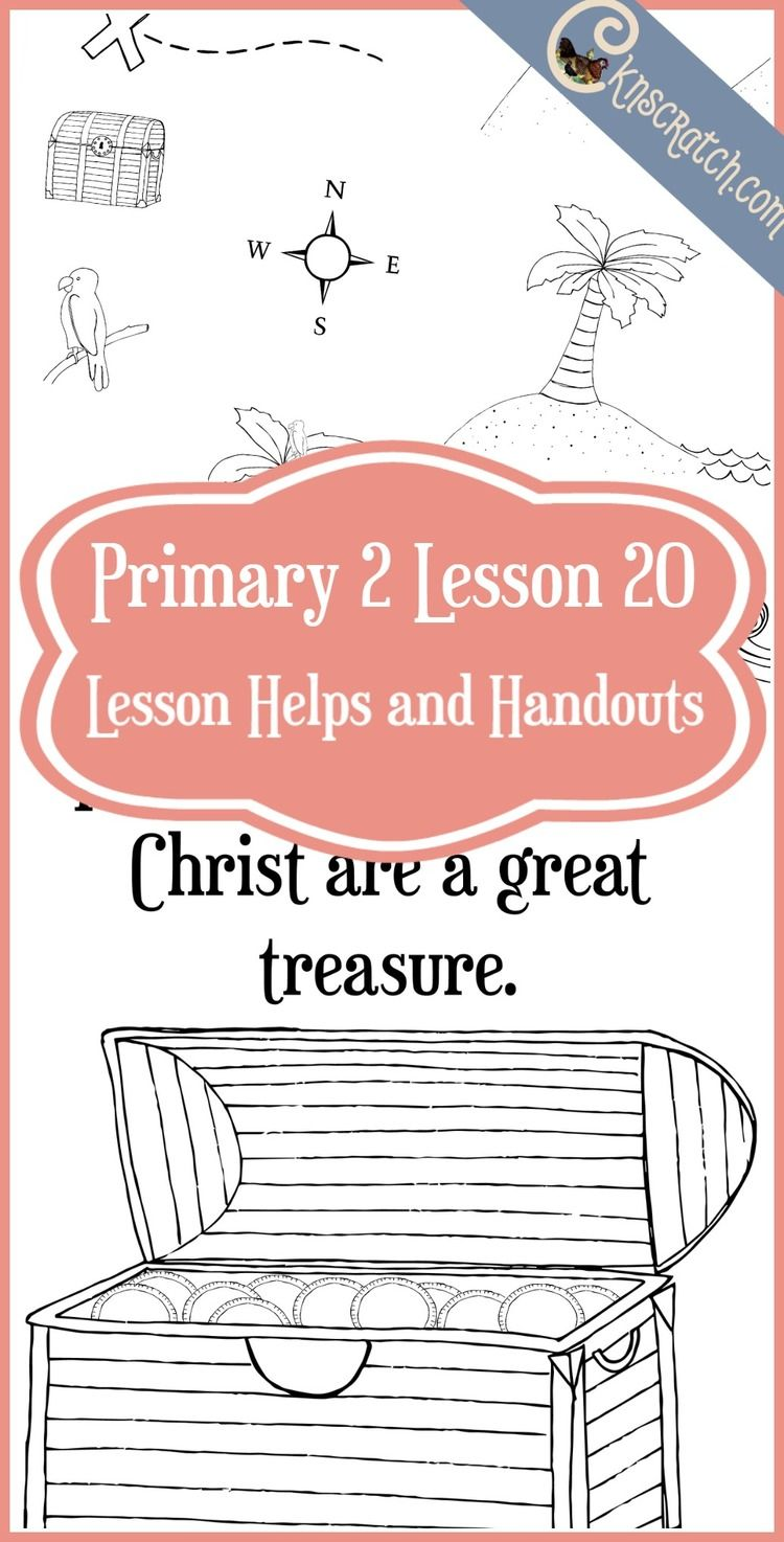 Lesson 20: The Teachings of Jesus Christ are a Great Treasure ...