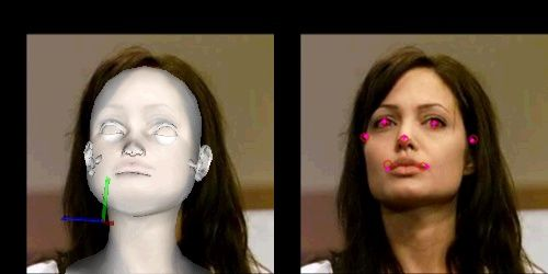 Head Pose Estimation with OpenCV & OpenGL Revisited [w/ code