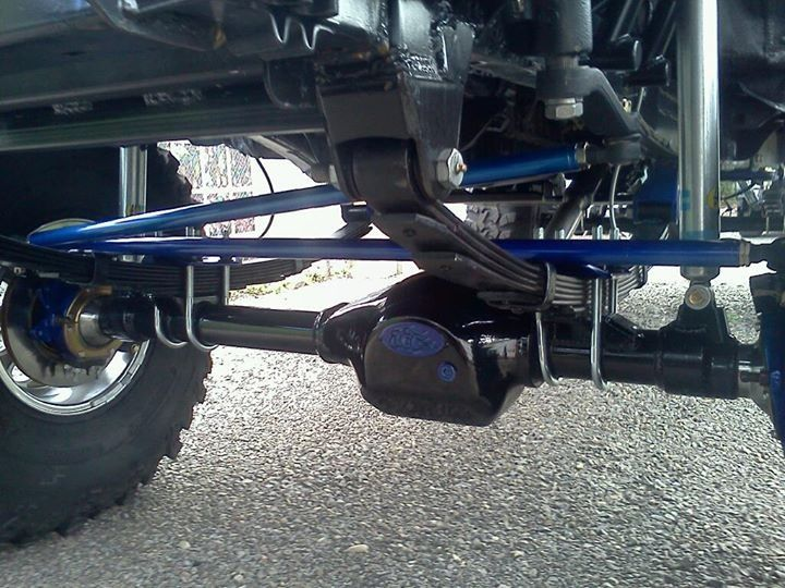 Trail Gear Rock Assault front axle for a SAS Tacoma