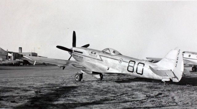 Spitfire at the Cleveland Air Races