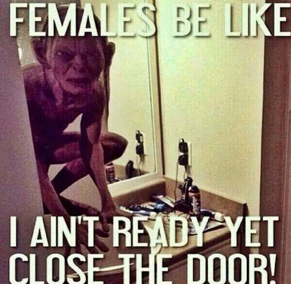 Close the door!