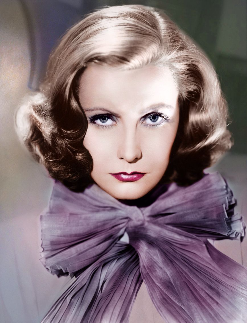Pictures Of Greta Garbo In Color