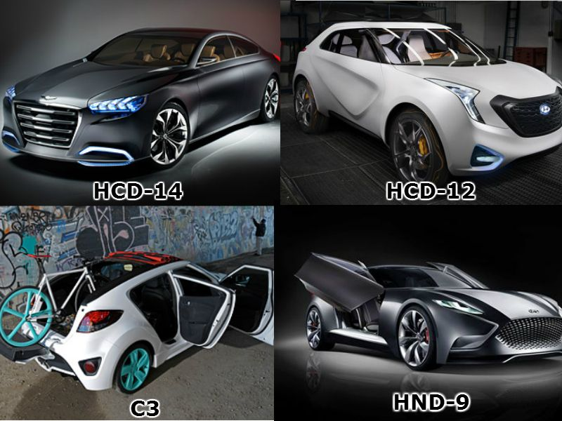 If You Could Have 1 Of These Hyundai Concept Designs Which Would You Choose Hyundai Models Hyundai Concept Design