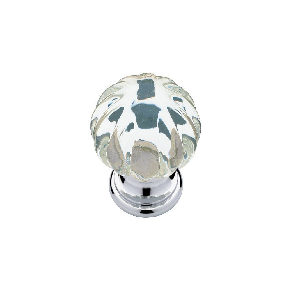 Liberty Hardware Shop: P30104-CHC-C | Knob | Clear With Chrome ...