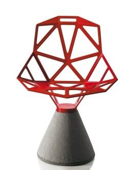 Magis CHAIR ONE (concrete base) Design: Konstantin Grcic, 2004