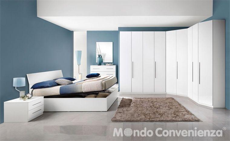 Camera da letto Eleonora - Armadio 6 ante - Moderno - Mondo ...