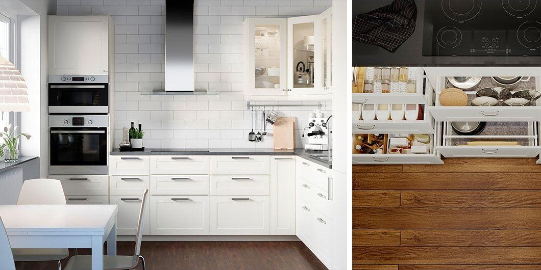 Modna I Funkcjonalna Kuchnia Flat W 2019 Kuchnia Ikea
