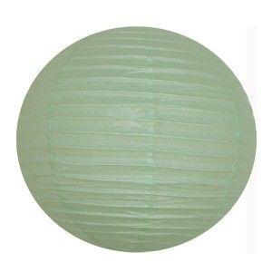 Lanterne chinoise - 50cm - Vert céladon
