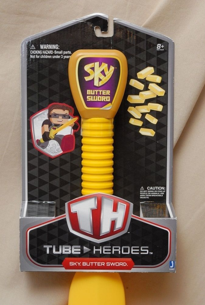 """Wield it proudly as a true member of the Sky Army."""". Tube"""