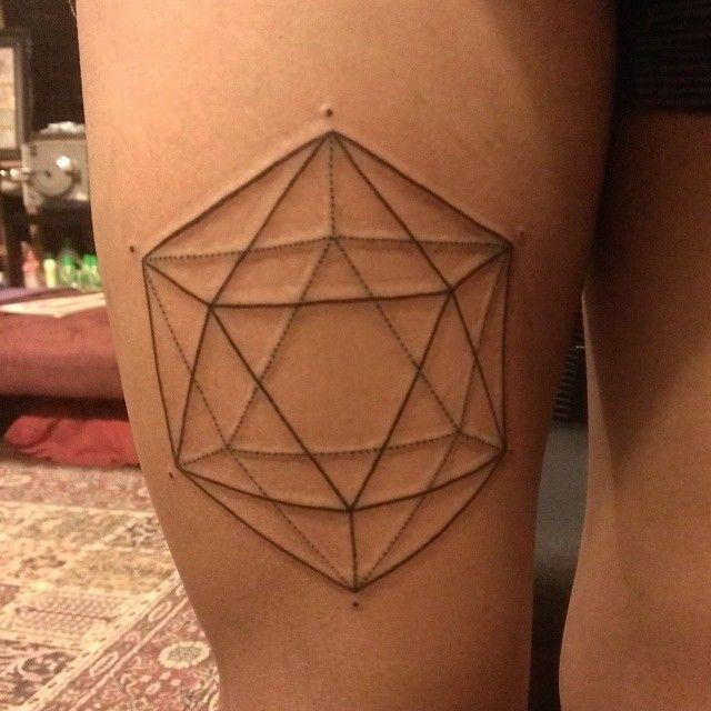 Icosahedron Tattoo