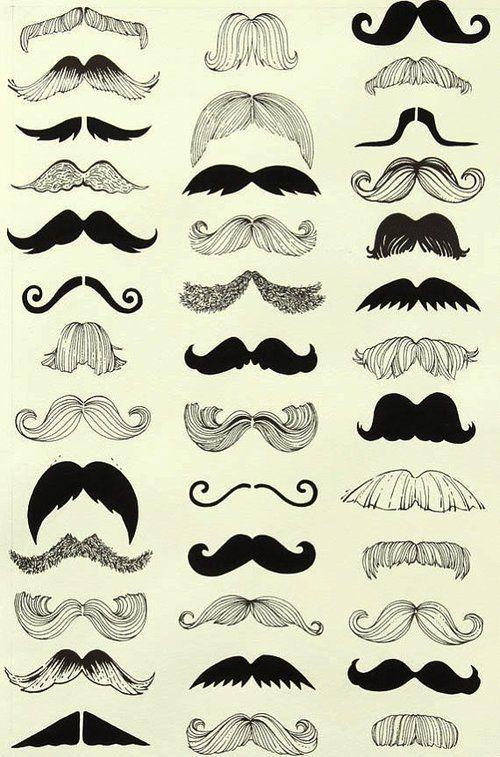 Mustache Snorren Snor Illustratie