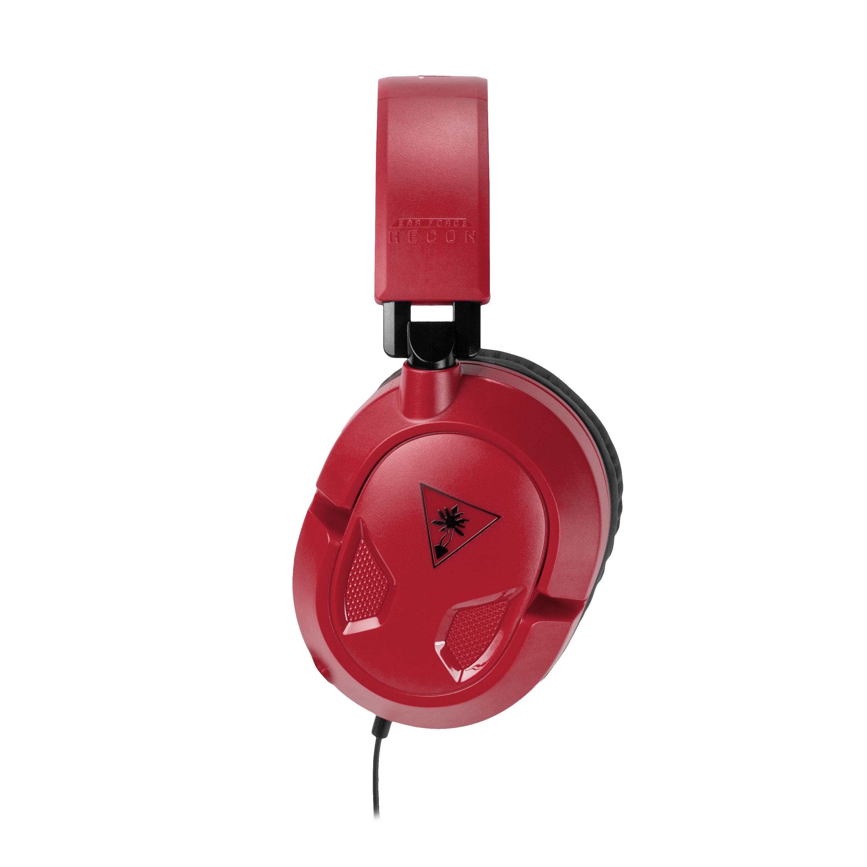 Turtle Beach Recon 50p Headset Red Walmart Exclusive Ps4 Xbox One Pc Mobile Headset Red Turtle Xbox One Pc Xbox One Turtle Beach