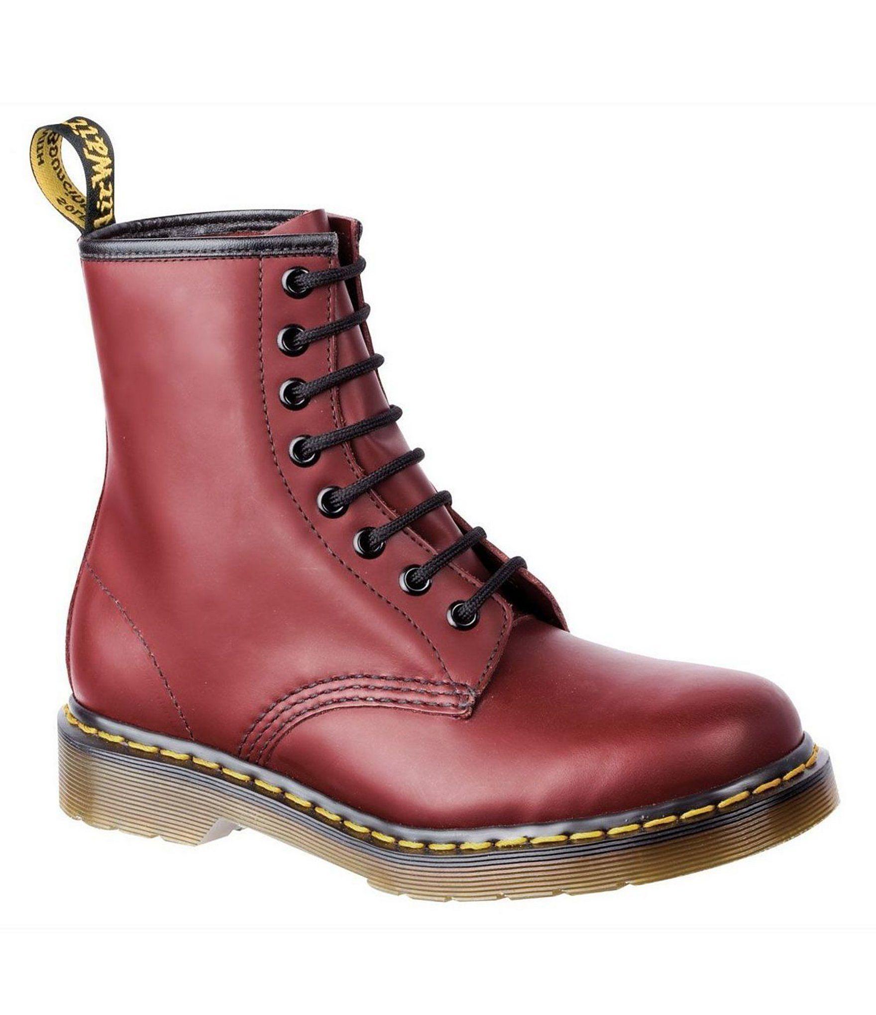 Dr. Martens 1460 Classic 8-Eye Combat Boots | Dillard's 31