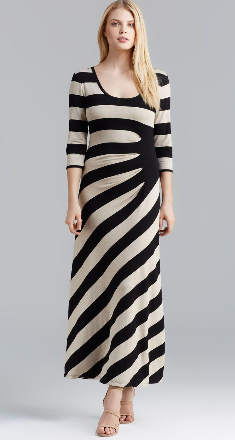 Ruched maxi dress maternity