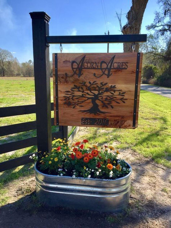 46 rustic front yard landscaping ideas farm entrance