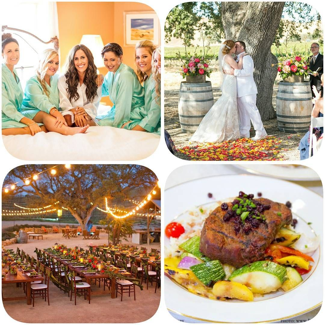 Inclusive Wedding Packages Vineyard C Winery Paso Robles
